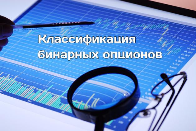 Классификация бинарных опционов